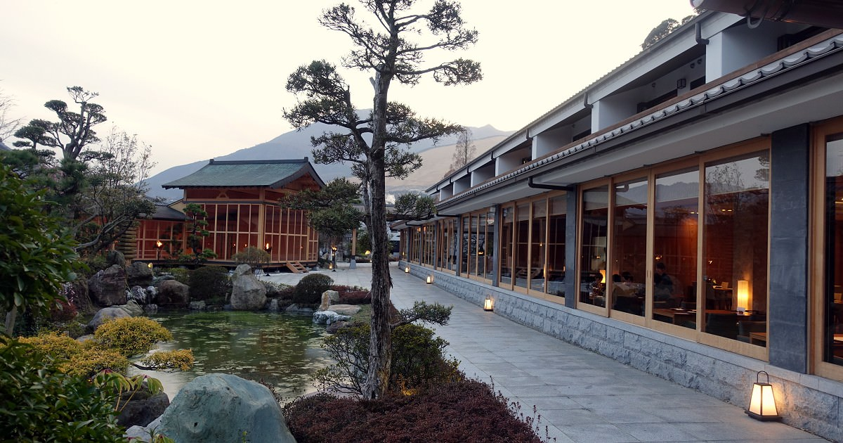 跟別府地獄做鄰居–溫泉旅館 山莊 神和苑 周邊環境篇