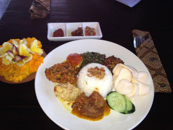 自助峇里島–Sanur沙努爾食記地圖